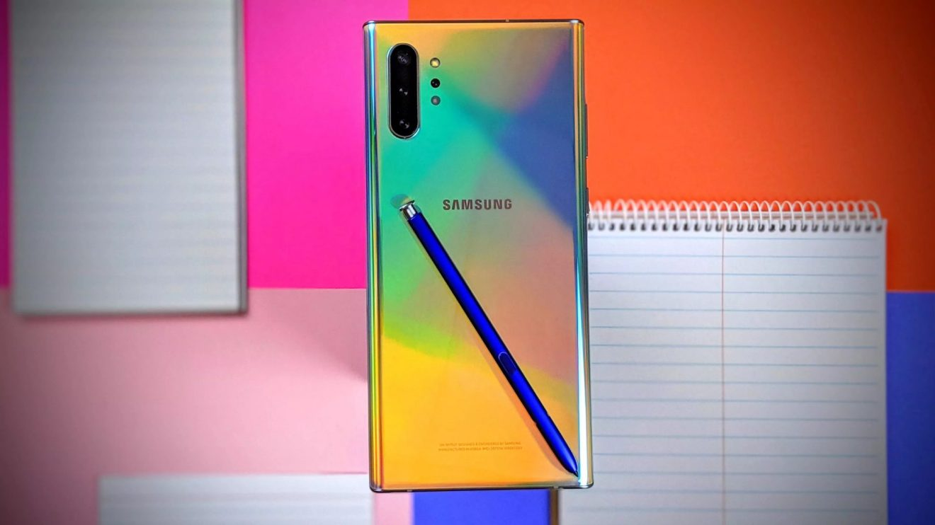 Foto destacada do Galaxy Note 10