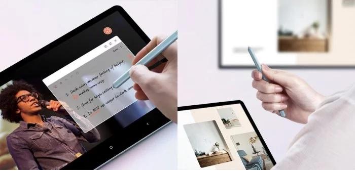 S Pen é equipada com Bluetooth para interagir com o Galaxy Tab S6
