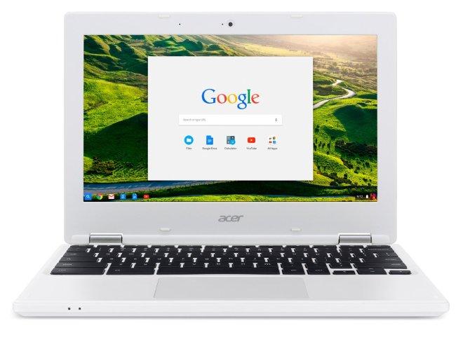 Os quatro novos Chromebooks oferecem desempenho, portabilidade e duração