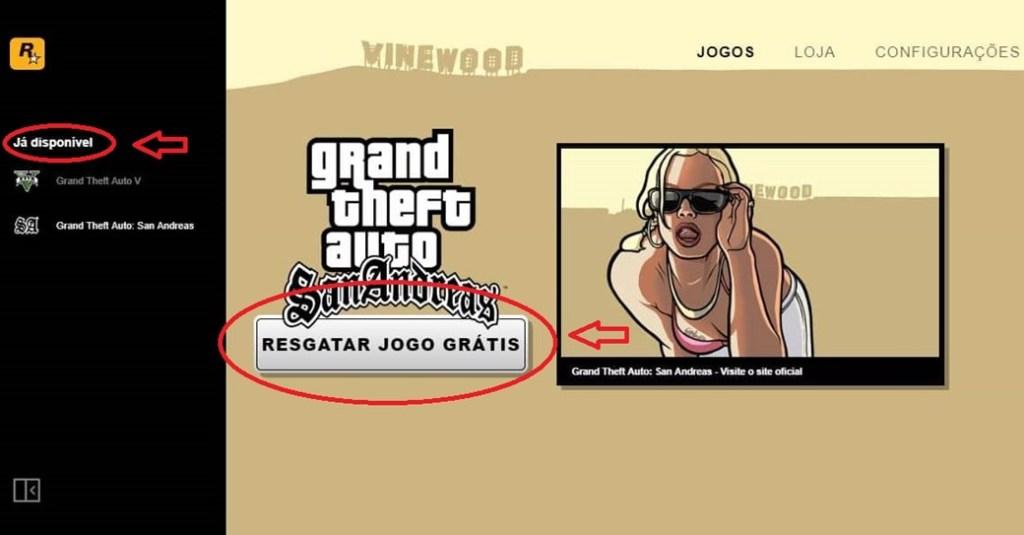 Baixe agora GTA San Andreas de graça no PC