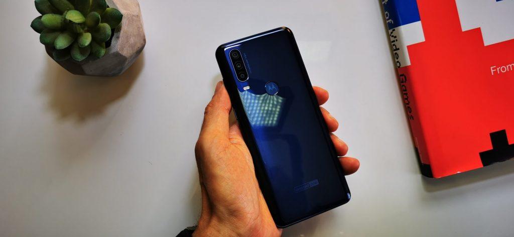 Traseira do Motorola One Action