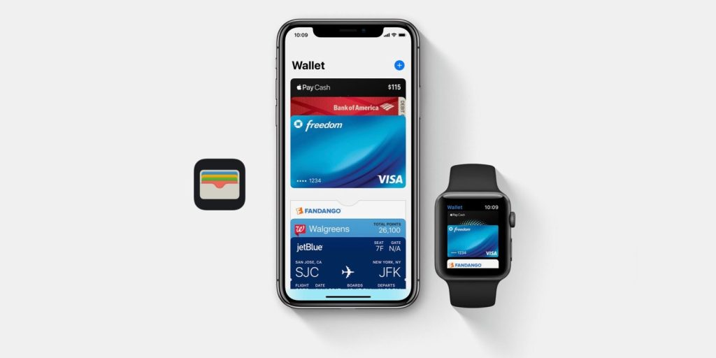 Aparelhos compatíveis com Apple Pay