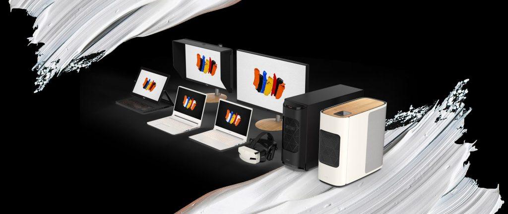 Os novos modelos da série ConceptD Pro estão entre os primeiros a oferecer suporte a Ray Tracing