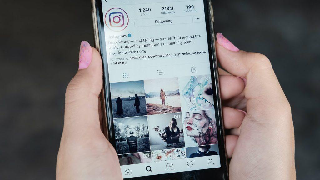Instagram restrição postagens estética