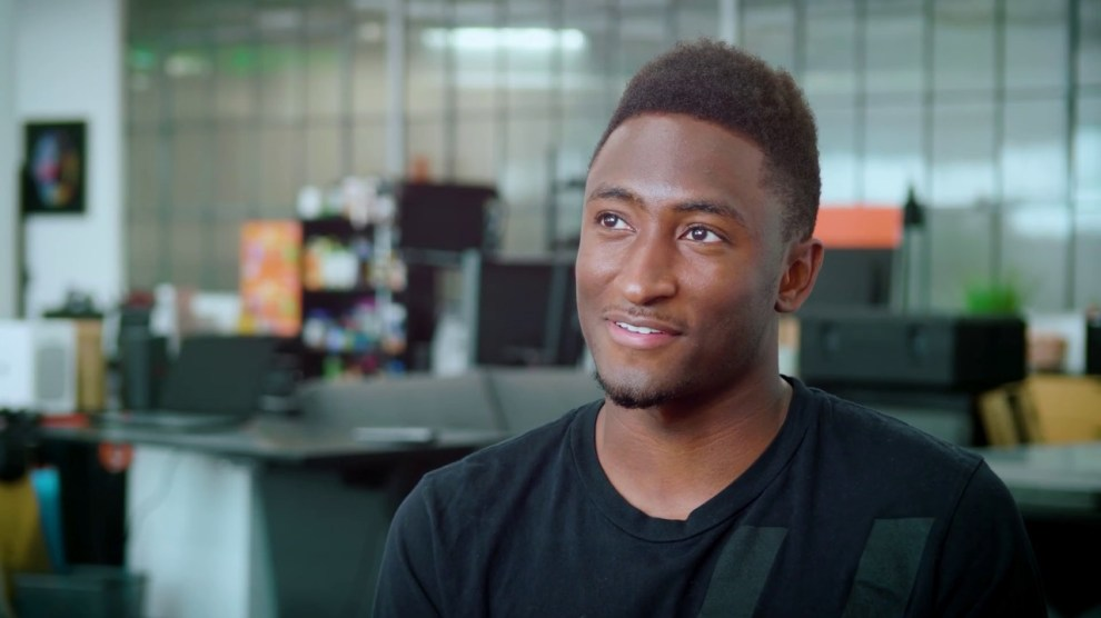 Youtuber Marques Brownlee