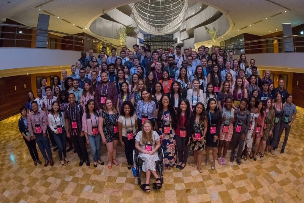 Os delegados da Youth Ag Summit