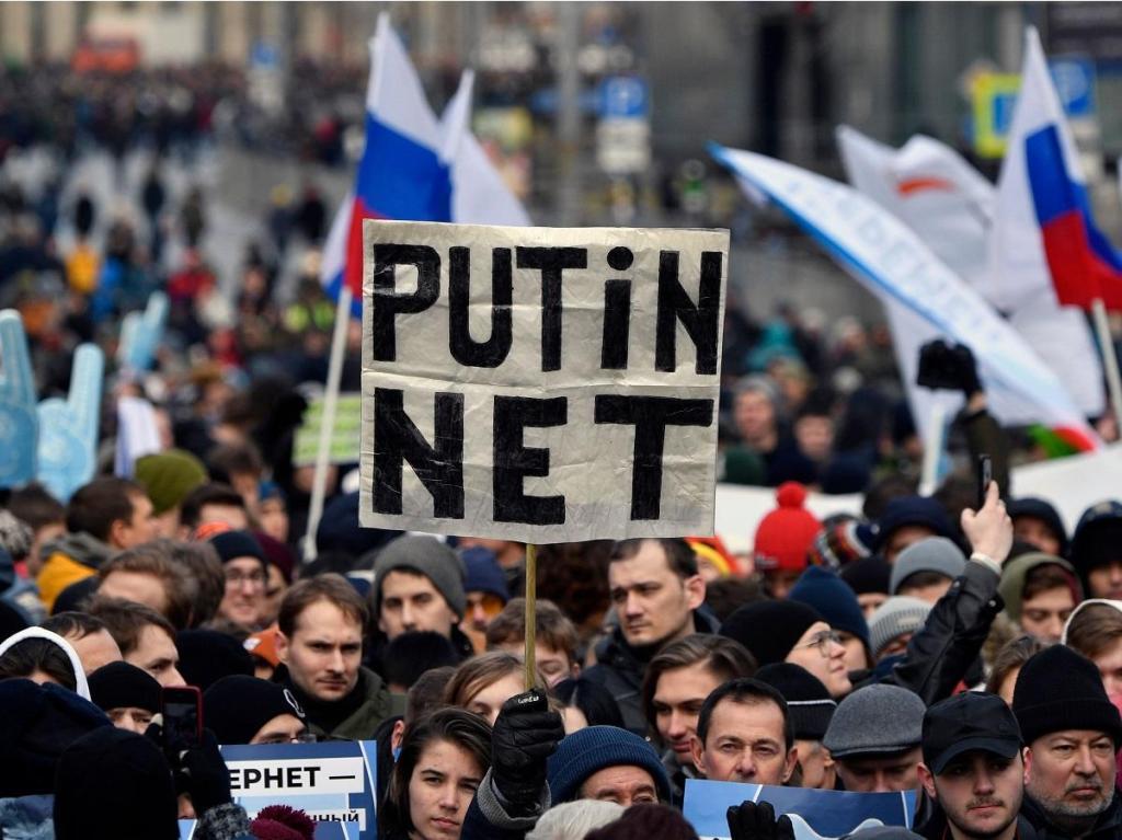 Os protestos na rússia acontecem desde maio