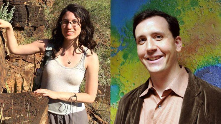 Giada Arney e Shawn Domagal-Goldman