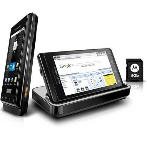 Motorola Droid Milestone - Como atualizar seu Motorola Milestone ou Droid