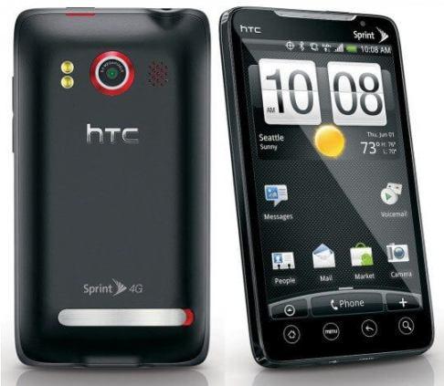 sprint HTC evo 4g 540x470 - O primeiro celular 4G: HTC EVO