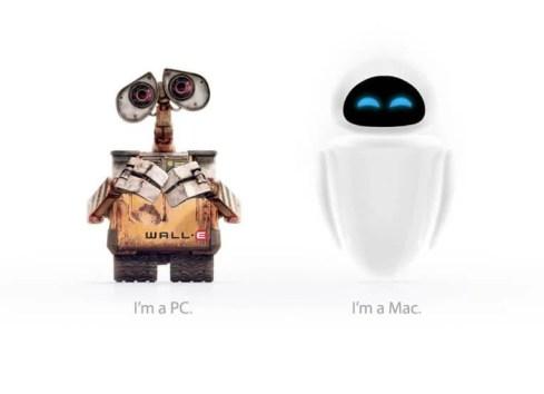 walle eve pc mac1 - PC ou Mac? O guia definitivo.