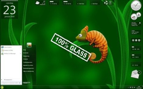 GlassGadgetsforwindows7 - 14 Gadgets Transparentes para o Windows 7 e Vista