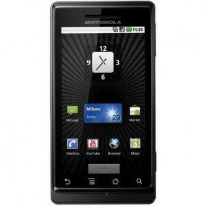 Motorola Milestone 300x300 - Tutorial: como atualizar seu Motorola Milestone com o sistema Android Froyo 2.2.1 + Barra de Notificações Preta