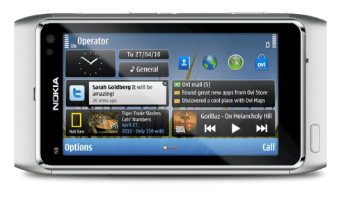 Vídeo: Nokia N8 Widgets preview 4
