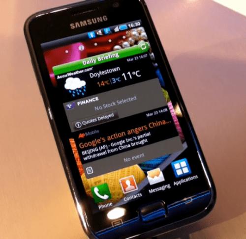 Samsung Galaxy S 2 640x624 540x5261 500x487 - Surpresa: Sansung Galaxy S brasileiro será o mais completo de todos