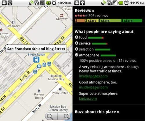 google maps 43 500x416 - Nova atualização: Google Maps 4.3.0 (#4305) para celulares Android