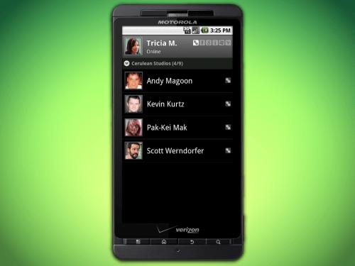 android contacts l 500x375 - Novo aplicativo: Trillian para smartphones Android