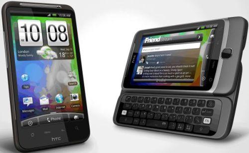 HTC Desire HD and HTC Desire Z2 500x307 - HTC planeja trazer novos Smartphones da linha Desire ao Brasil!