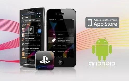 Android PlayStation e1292527461178 - Sony lança aplicativo do PlayStation para iPhones e Androids