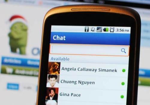 new facebook chat 500x350 - Facebook para o Android: nova atualização adiciona a função Chat (Bate-Papo)!