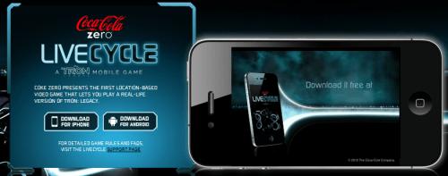tron livecycle android showmetech 500x197 - Livecycle: jogo com realidade aumentada baseado no filme TRON: O Legado
