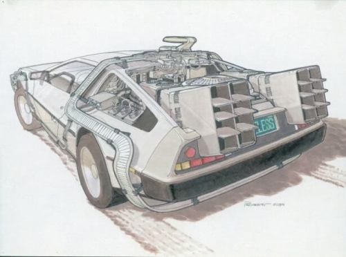 concept drawings back to the future 0 500x372 - IMAGENS: Back to the Future II Concept Art