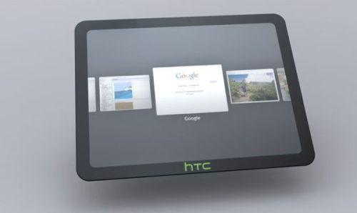 htc chrome tablet 500x298 - HTC Flyer: o primeiro tablet da HTC