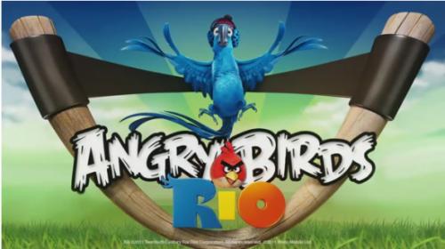 thumb 550 Angry Birds Rio 500x280 - Angry Birds: versão Rio de Janeiro!