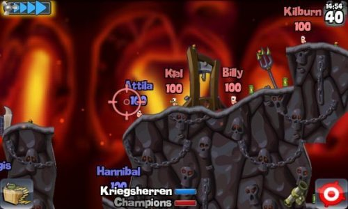 wormspn 500x300 - Games: Worms para Android