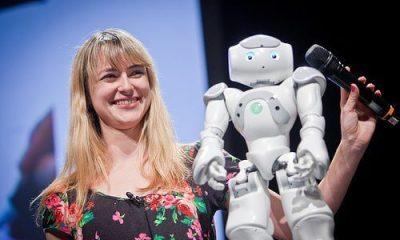 data heather knight robot stand up comedy - Vídeo: um robô craque em Stand-up Comedy