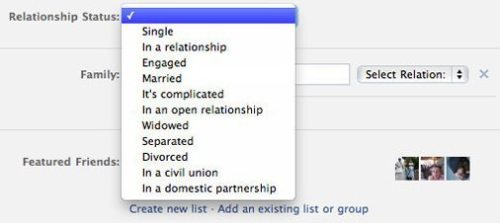 screen huffpost status facebook 500x223 - Facebook adiciona dois novos status de relacionamento