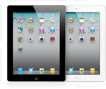 new Ipad 2 black white - Shometech em versão para o iPad