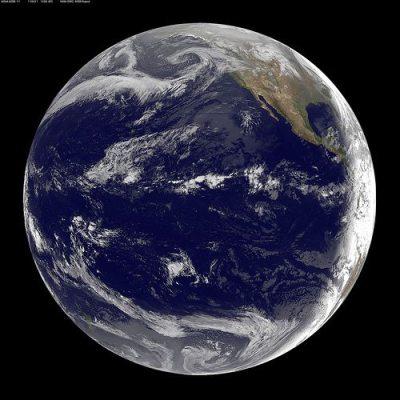 nasa goes 11 satellite1 - Cientistas associam terremotos às mudanças climáticas