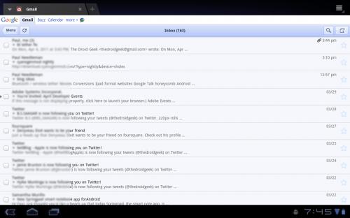 xoom browser gmail 500x312 - Dica: como ver sites para iPad no Motorola Xoom