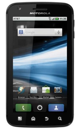 Motorola Atrix1 - Motorola Atrix brasileiro recebe atualização 2.3 do Android