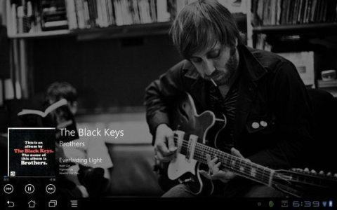 wp7playeronhoneycomb - Novo media player deixa seu Android com cara de Windows Phone