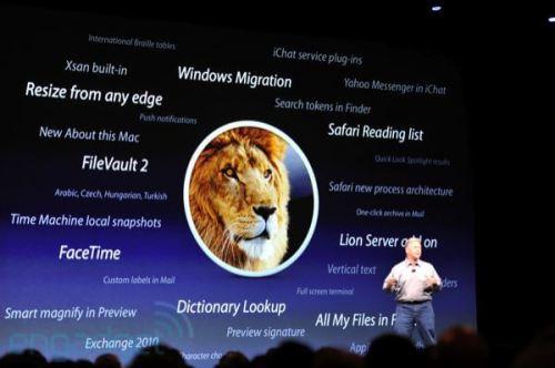 Apple WWDC 2011: Mac OS X Lion 4