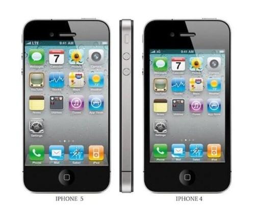 possivel iphone 5 500x415 - Análise dos rumores sobre o iPhone 5: como será o novo smartphone da Apple?