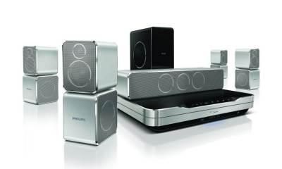 HTS9520 04 - Review: Home Theater Philips 5.1 Blu-ray 3D - HTS9520