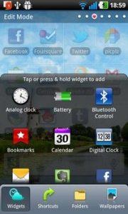 LG Optimus Black Menu 180x300 - Teste de UIs: as melhores interfaces de usuário para smartphones