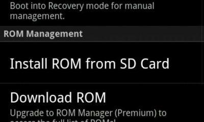 """RomManager - Dicionário Básico do """"Mod"""" para Android - Recovery CWM / Nandroid"""