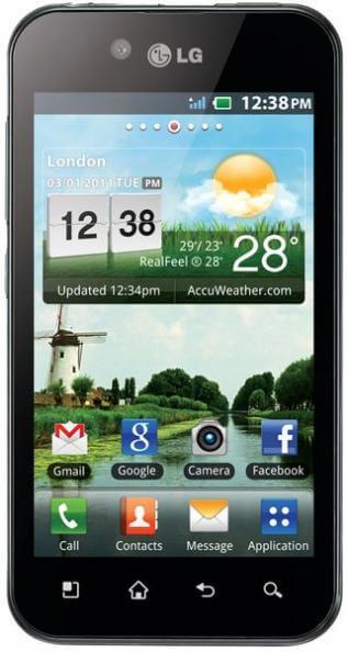 LG Optimus Black 1 - Review: LG Optimus Black