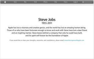 Steve jobs died dead 1 300x189 - Morre Steve Jobs, fundador da Apple