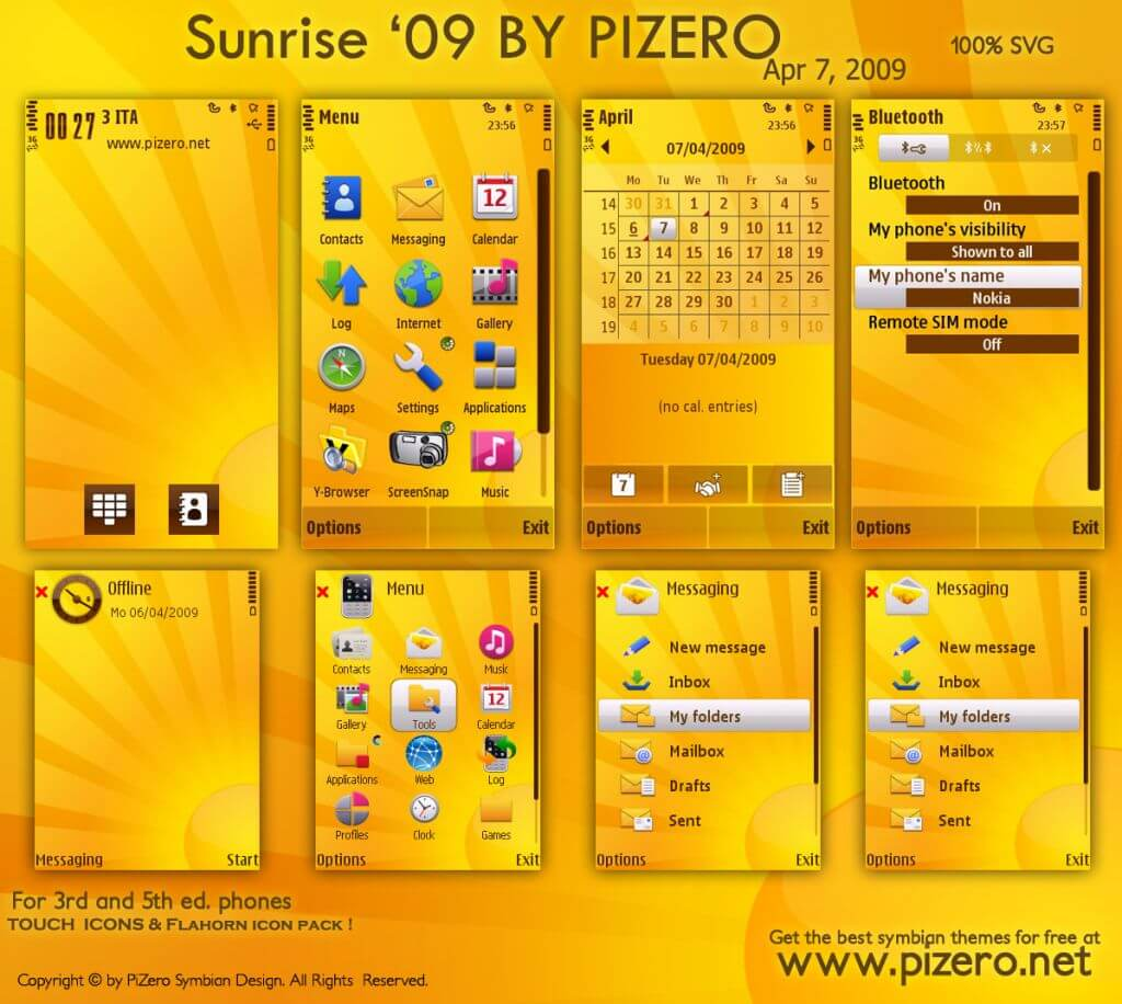 sunris09 - Theme of the week: Sunrise for S60 5th and 3rd editions
