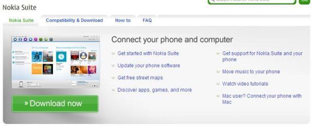 """Nokia Suite 610x246 - Nokia Suite sai do beta e acaba com o """"OVI Suite"""""""