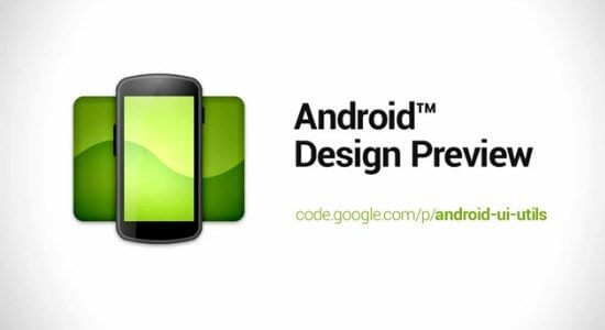 Android-DEsign-Preview