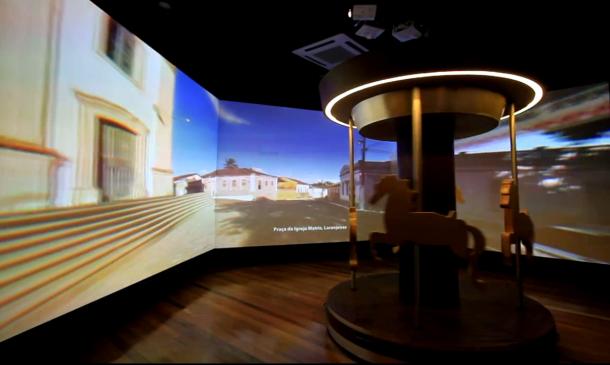 Carrossel de Tobias1 610x365 - Tecnologia e cultura popular marcam museu sergipano