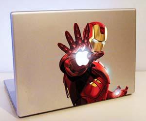 iron man macbook sticker - Thisiswhyimbroke.com: todos os desejos geeks num só site