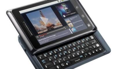 motorola milestone 2 01 - Motorola Milestone 2 da TIM recebe atualização para o Android 2.3