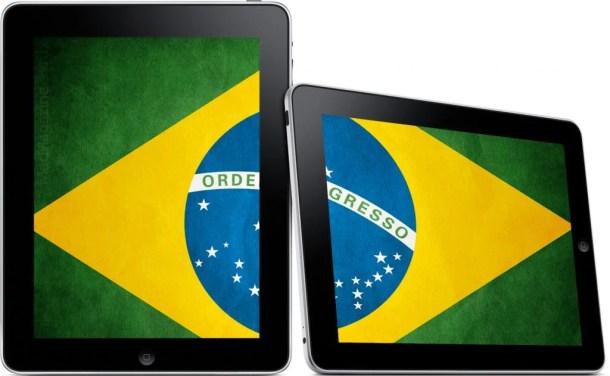 ipad brasil 610x376 - Venda de Eletroeletrônicos fecha 2011 com alta de 14,1%